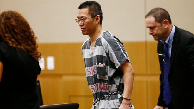 Johnathan Doody was sentenced to nine consecutive life sentences on Mar. 14, 2014 in Phoenix.