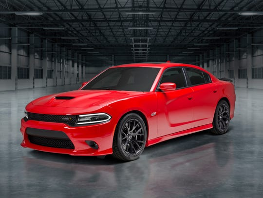 The 2018 Dodge Charger.