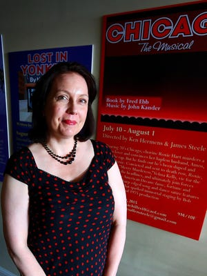 Lisa Joyce is Pentacle Theatre's new executive director. She's a longtime Pentacle volunteer with 27 years of experience in state government services.