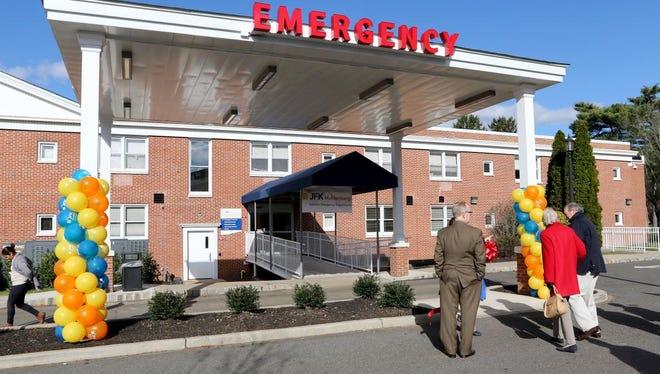 The exterior of the new JFK-Muhlenberg Satellite Emergency Department.