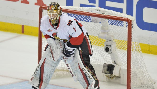 Ottawa Senators goalie Mike Condon has signed a three-year extension with the team.