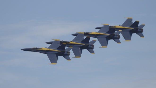 Blues in the sky over Pensacola Beach.