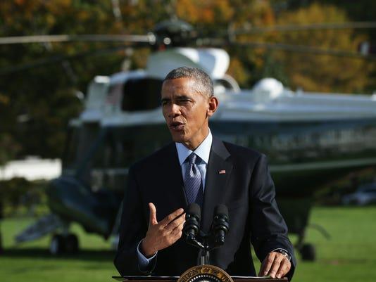Obama speaks on Ebola