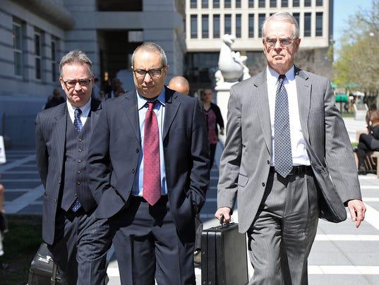 The sentencing of former Passaic Mayor Alex Blanco.