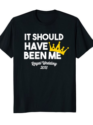 This feisty royal wedding t-shirt says what you're