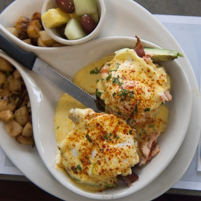 The Turning Point's take on Eggs Benedict gets updated