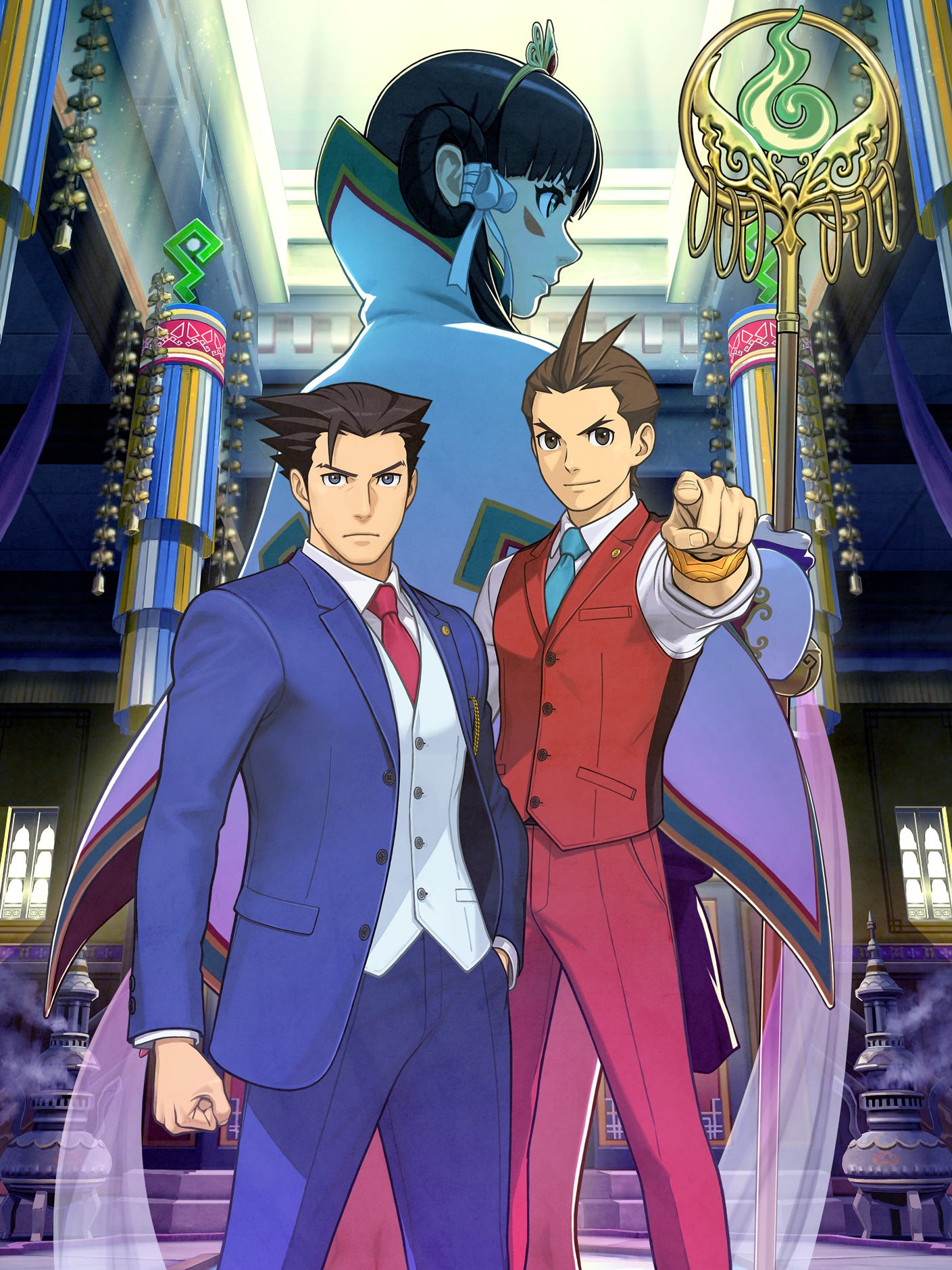 Khura In Game Phoenix Wright Ace Attorney Spirit Of Justice