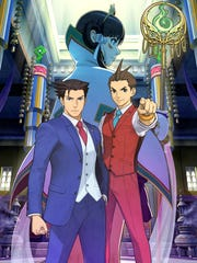 Phoenix Wright Ace Attorney Spirit of Justice for 3DS.
