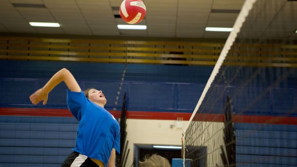 West Henderson senior Mary Catherine Ball has committed to play college volleyball for Belmont.