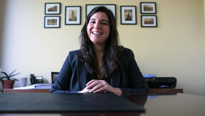 Emma A. Rabideau of Greece is a lawyer at The Glennon Law Firm in Penfield.