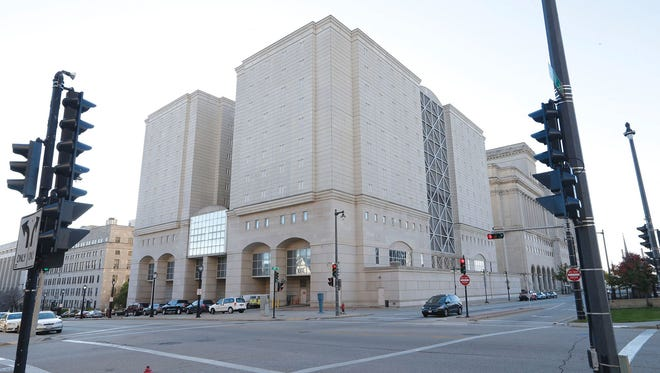 A jury Wednesday, June 7, 2017, awarded $6.7 million to a woman who was raped repeatedly by a guard when she was being held in the Milwaukee County Jail in 2013.