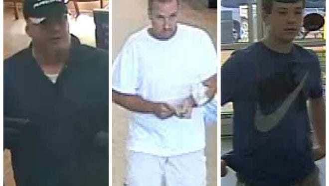Have you seen these men? Call CrimeStoppers at 601-355-TIPS or the FBI at 800-CALL-FBI.