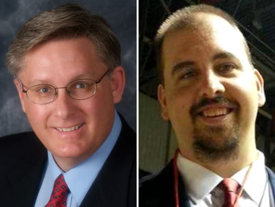 Supervisor Tony Staskunas (left) and Tim Johnson (right) are competing for Milwaukee County Board District 17 supervisor in the April 3 election.