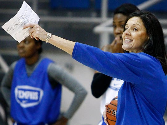 Memphis women's basketball coach Melissa McFerrin