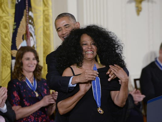 President Obama Honors 21 Americans With Presidential Medal Of Freedom - DC