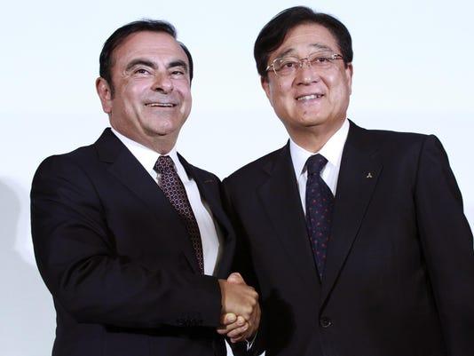 Carlos Ghosn,Osamu Masuko