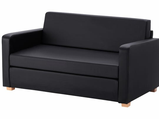 Ikea's modestly priced sleep sofa is a good option for last-minute overnight guests and those on a budget.
