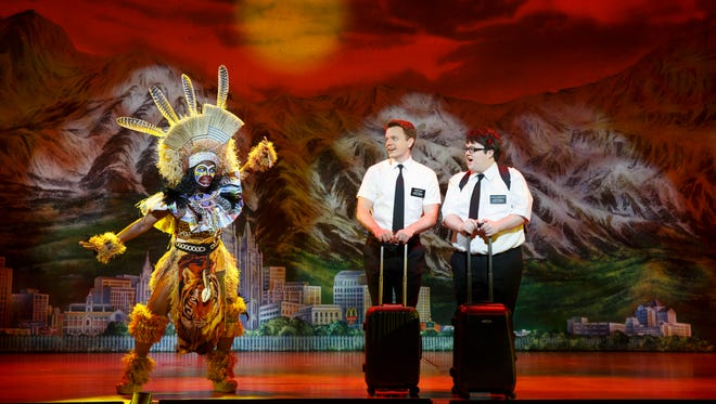 """The national tour of """"The Book of Mormon"""" will return to ASU Gammage in May 2017."""