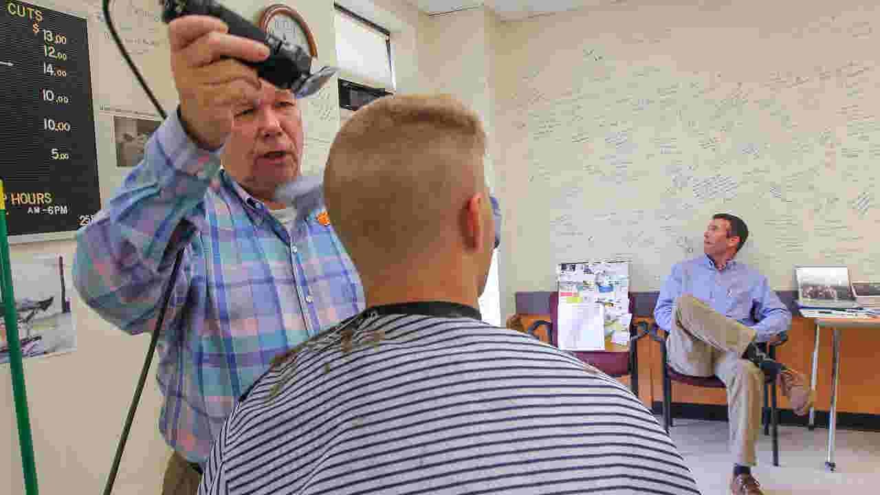 Clemson House Barber Shop Closed After 67 Years