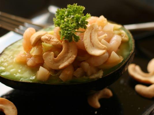 Honey Chipotle Shrimp Salad in Avocados .jpg