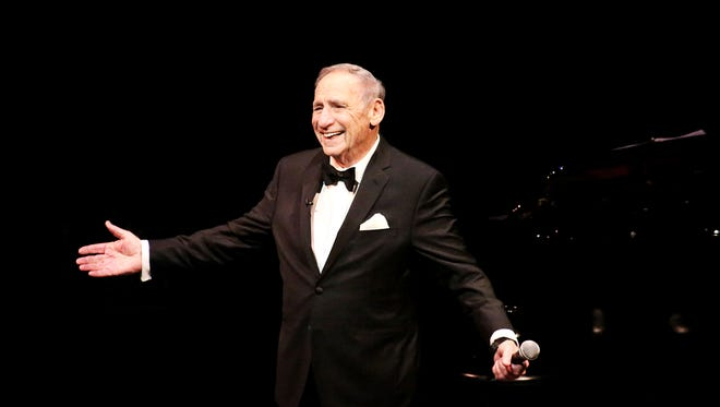 """""""Mel Brooks Live at the Geffen"""" his first solo stage production, airs on HBO on Jan. 31, 2015."""