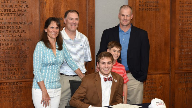 Asheville School senior Corrie Kuehn will play college golf for Rhodes (Tenn.).