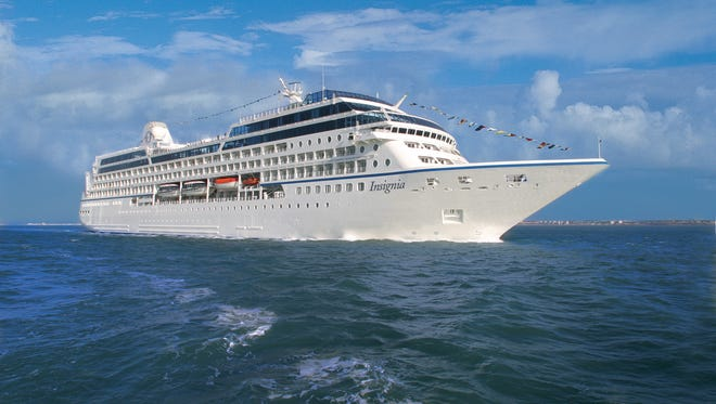 Oceania's next 180-day voyage embarks on January 4, 2016. Cruising round-trip from Miami, passengers on the 684-passenger Insignia will visit five continents, 45 countries and 92 ports.
