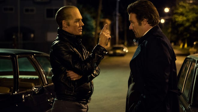Johnny Depp and Joel Edgerton star in 'Black Mass.'