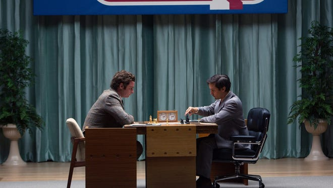 Chess genius Bobby Fischer starts to unravel under the pressure of his famed Cold War matches against Russian opponents.