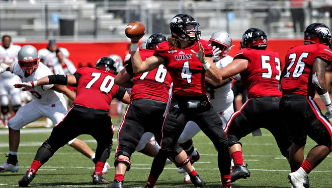 Incarnate Word quarterback Trent Brittain is coming back from an injury.