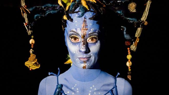 Cirque du Soleil TORUK Na'vi person.