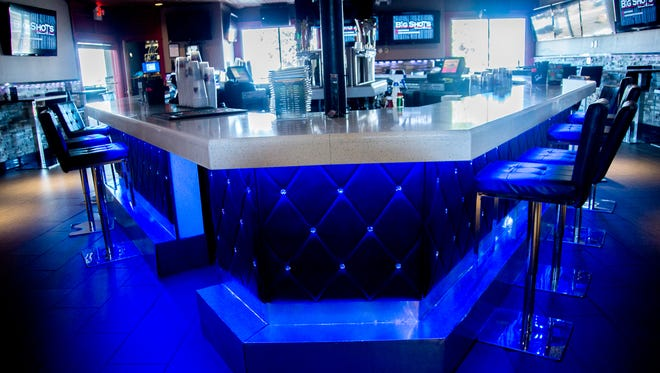 The main bar was revamped.