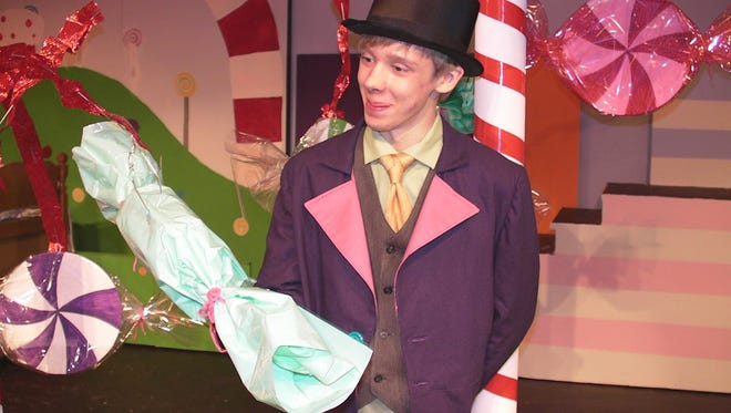 """Tanner Zocher will portray Willy Wonka in an upcoming play based on """"Willy Wonka and the Chocolate Factory"""" in Campbellsport."""
