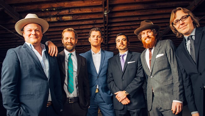 The Steep Canyon Rangers play a free show Saturday, June 11 at Pack Square Park in Downtown Asheville.