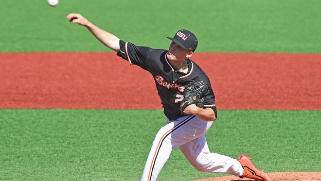 OSU pitcher Bryce Fehmel has been named to two freshman All-American teams.