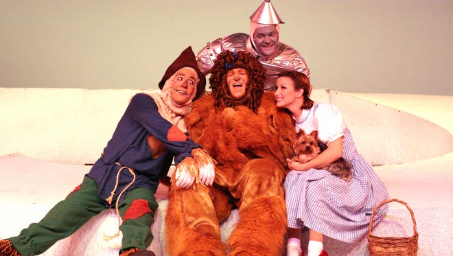 """""""The Wizard of Oz"""" opens Thursday, July 7, at the Broadway Palm in Fort Myers."""