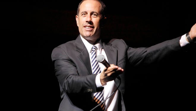 Jerry Seinfeld, on Thursday, Sept. 26, 2013, in New York. (Photo by Amy Sussman/Invision for Citi Cards/AP Images)