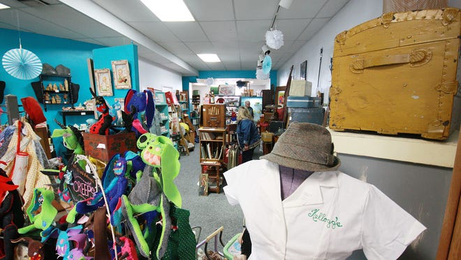 9 Lives Vintage and Thrift at 197 N. 20th Street in Battle Creek specializes in selling nostalgia to customers with an ever-changing inventory of items.