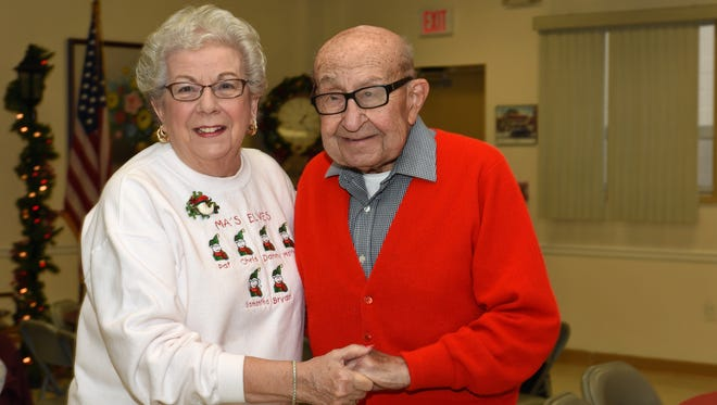 The Garfield Senior Center held their Annual Holiday Party on December 9, 2014.