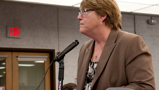 Fomer Hackensack Superintendent Karen Lewis in a March 2015 file photo. Lewis was fired in June 2016.