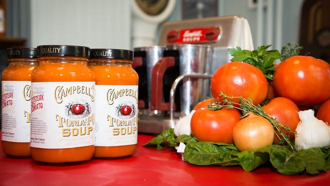 Campbell Soup Company has brought back the original 1915 recipe for its tomato soup, using tomatoes developed and grown in South Jersey.