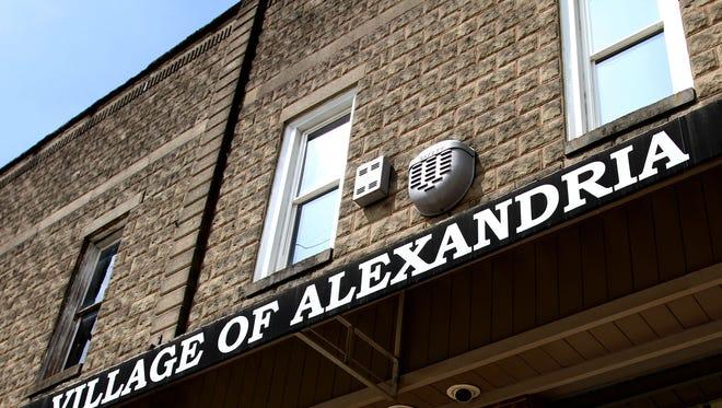 The Village of Alexandria building.