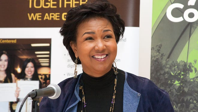 Astronaut Mae Jemison spoke at Western Michigan University Thursday afternoon.