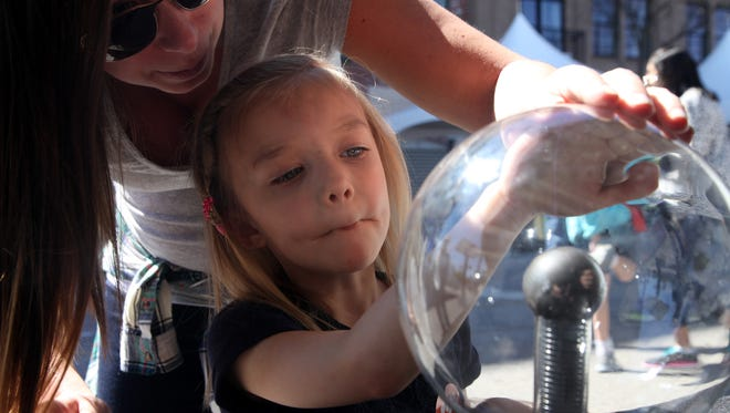 The fourth annual iMAGINE Upstate STEAM Festival takes place in Greenville'sWest End this Saturday.