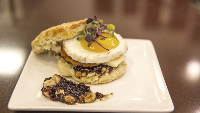 This Mother's Day breakfast sandwich is a treat anytime you want morning to be special.