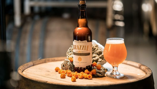 Odell Brewing has brought its popular sour called Brazzle back. The 2017 version includes double the amount of golden raspberries.