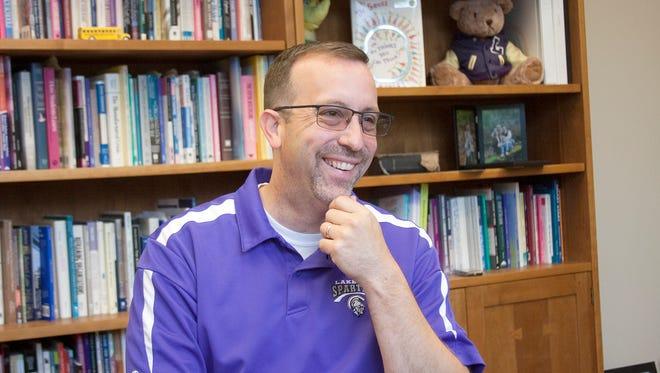 Lakeview Superintendent Blake Prewitt