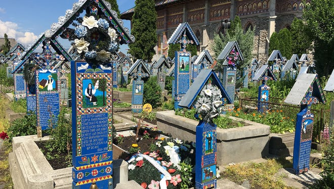 "This ""Merry Cemetery"" in the north of Romania is a celebration of life — and an irreverent gesture in the face of death."