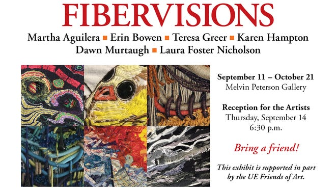 FIBERVISIONS opens Monday.