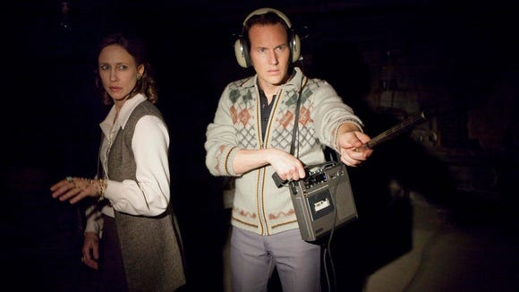 """Vera Farmiga and Patrick Wilson (yes, again) search for the supernatural in """"The Conjuring."""""""